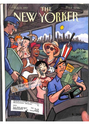 Cover Print of New Yorker, July 21 1997