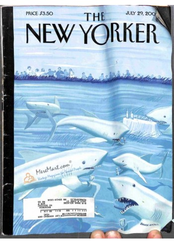 Cover Print of New Yorker, July 29 2002
