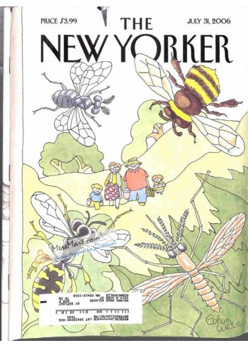 Cover Print of New Yorker, July 31 2006
