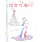 Cover Print of The New Yorker, July 7 1986
