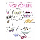 Cover Print of The New Yorker, July 9 1990