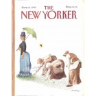 Cover Print of The New Yorker, June 18 1990