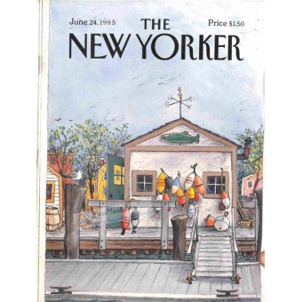 Cover Print of The New Yorker, June 24 1985