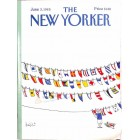 Cover Print of The New Yorker, June 3 1985