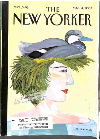 Cover Print of New Yorker, March 14 2005