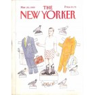 Cover Print of The New Yorker, March 20 1989