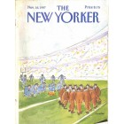 Cover Print of The New Yorker, November 16 1987