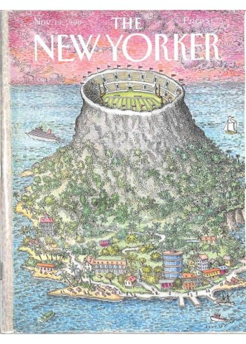 Cover Print of The New Yorker, November 19 1990