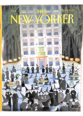 Cover Print of The New Yorker, November 2 1987