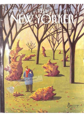 Cover Print of The New Yorker, November 5 1990