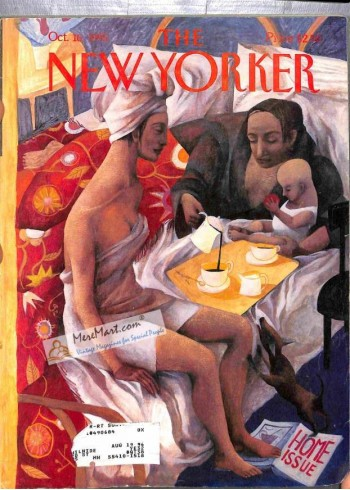 Cover Print of New Yorker, October 16 1995