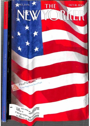 Cover Print of New Yorker, October 18 2004