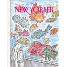 Cover Print of The New Yorker, October 24 1988