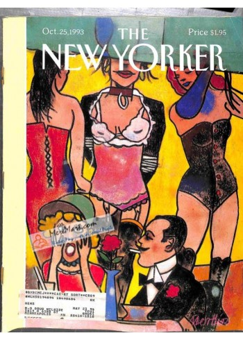 Cover Print of New Yorker, October 25 1993