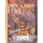 Cover Print of New Yorker, October 29 2001