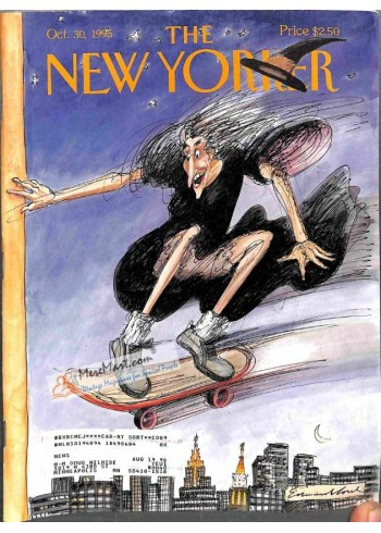 Cover Print of New Yorker, October 30 1995