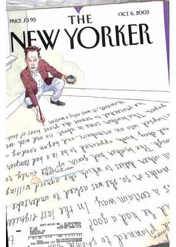 Cover Print of New Yorker, October 6 2003