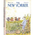 Cover Print of The New Yorker, September 21 1987