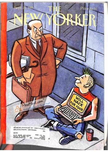 Cover Print of New Yorker, September 25 1995