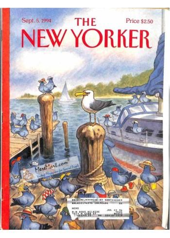 Cover Print of New Yorker, September 5 1994