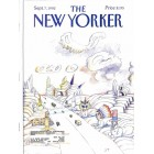 Cover Print of The New Yorker, September 7 1992