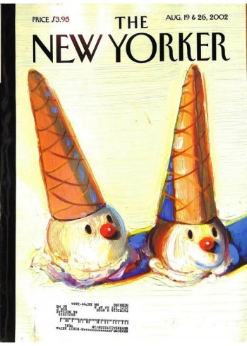 Cover Print of New Yorker, August 19 2002