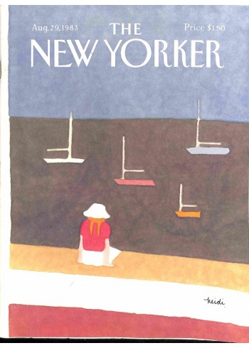 Cover Print of New Yorker, August 29 1983