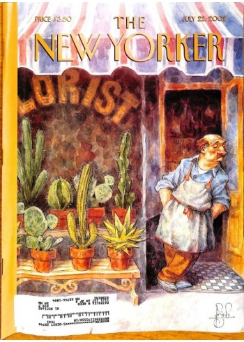 Cover Print of New Yorker, July 22 2002