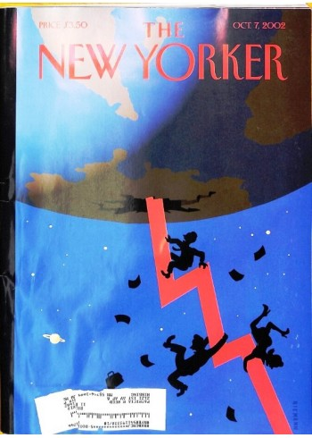 Cover Print of New Yorker, October 7 2002