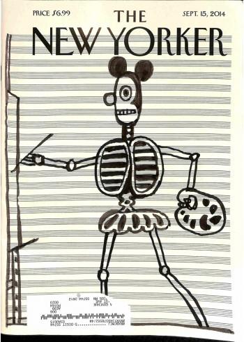 Cover Print of New Yorker, September 15 2014