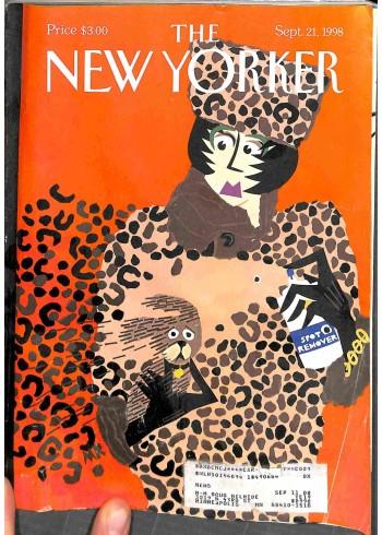 New Yorker, September 21 1998
