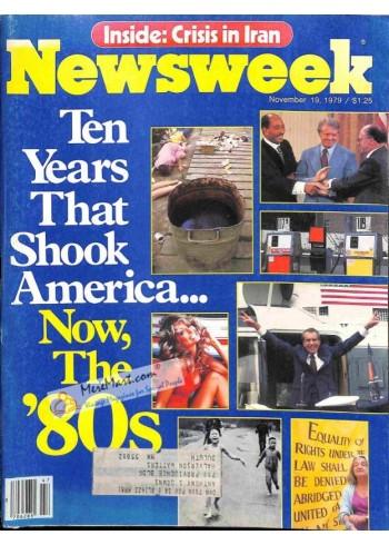 Cover Print of Newsweek, November 19 1979