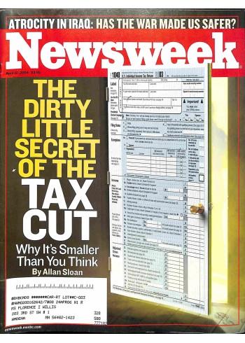Cover Print of Newsweek, April 12 2004