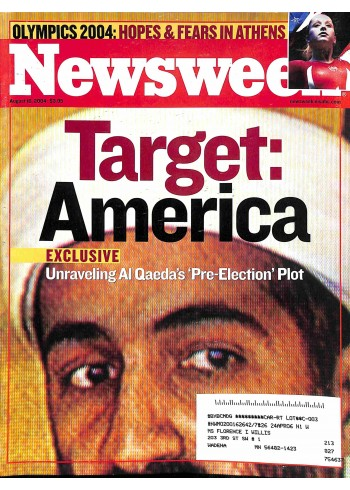 Cover Print of Newsweek, August 16 2004