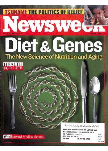 Cover Print of Newsweek, January 17 2005