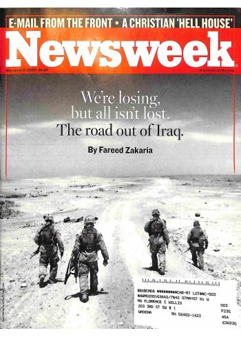 Cover Print of Newsweek, November 6 2006
