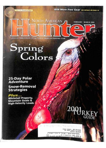 Cover Print of North American Hunter, February 2001
