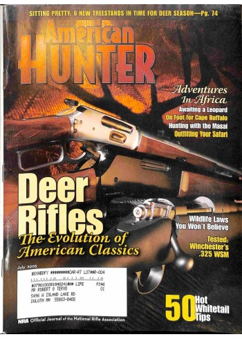 Cover Print of North American Hunter, July 2005