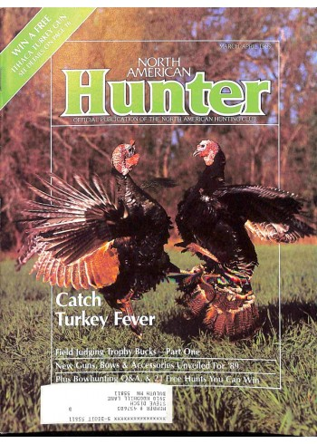 Cover Print of North American Hunter, March 1989