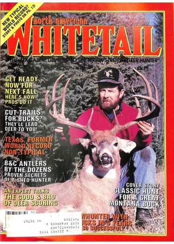 North American Whitetail, February 1992