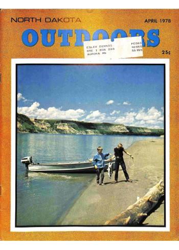 Cover Print of North Dakota Outdoors, April 1978