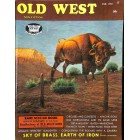 Cover Print of Old West, Fall 1966