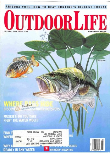 Cover Print of Outdoor Life, July 1992