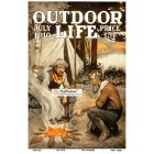 Outdoor Life, July, 1910. Poster Print.