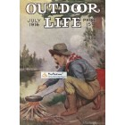 Outdoor Life, July, 1916. Poster Print. Hastings.