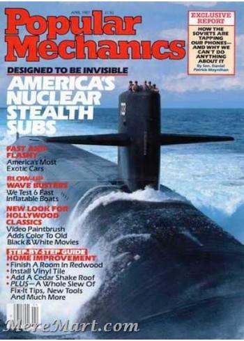 Popular Mechanics, April 1987