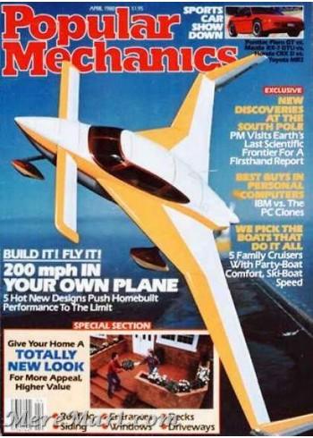 Popular Mechanics, April 1988