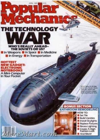 Popular Mechanics, April 1989