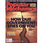Popular Mechanics, April 2001