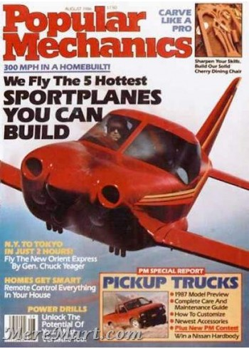 Popular Mechanics, August 1986